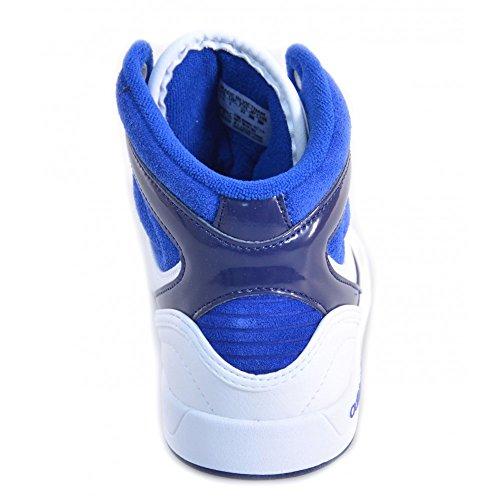 Adidas - Adidas Court Attitude K Scarpe Bambino Bianche Pelle M25189 - Blanc, 29