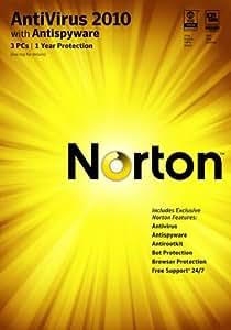 Norton Antivirus 2010 1 User / 3 PC [Download] [OLD VERSION]