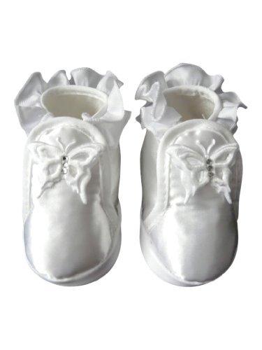 Zapatos festivas para bautizo o una boda - zapatos de bautizo para niñas, bebés TP19 tamaño 17