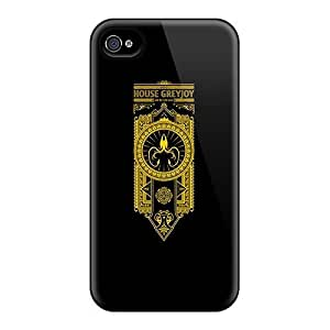 Diycase fashion MaryLoranger Defender case covers Covers For Iphone 4s- House Greyjoy xeaodRvolV8