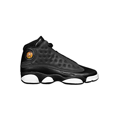 Jordan Air 13 Retro GG Hyper Pink Lifestyle Youth Sneakers Black/Anthracite-Anthracite New 439358-009 - 7 by Jordan