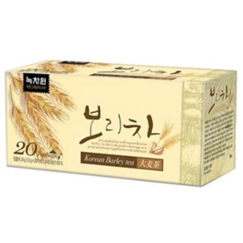 KOREAN Barley Tea_Unbleached Teabags_1.5g x 20 Teabags_Roasted Barley Tea ()