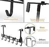 Over Door Hooks, LUXEAR Adjustable Over Door