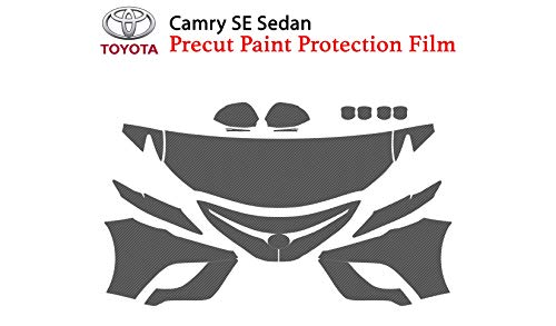 - The Online Liquidator Precut Clear Bra Paint Protection Film Kit fits Toyota Camry SE Sedan 2018 - Full Front Vinyl Wrap Surface Safeguard Armor Cover