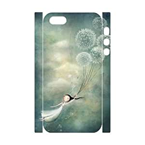 Dandelion 3D-Printed ZLB610435 DIY 3D Cover Case for Iphone 5,5S