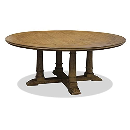 Round Wood Dining Table Amazoncom