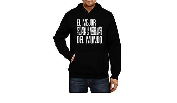 Amazon.com: Idakoos - El Mejor Aficionado A Los Peces De Acuario Del Mundo - Hoodie: Clothing