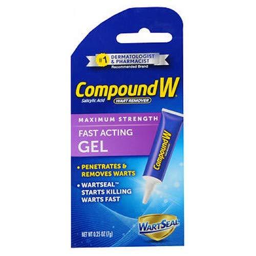 Compound W Gel Size .25z