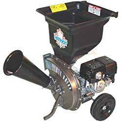 Patriot Products CSV-3090H 9 HP OHV Honda GX Gas-Powered Wood Chipper/Leaf Shredder