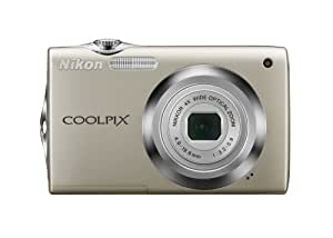 Nikon Coolpix S3000 12 MP Digital Camera with 4x Optical Vibration Reduction (VR) Zoom and 2.7-Inch LCD (Silver)