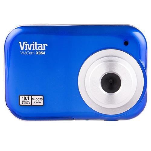 Vivitar ViviCam X054 10.1MP Digital Camera, Blue ()