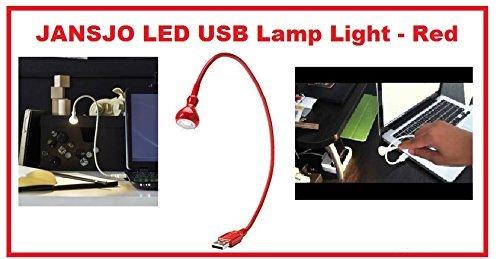 ikea JANSJO LED USB Lamp Light - Red