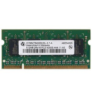 Infineon 512MB DDR2 RAM PC2-4200 200-Pin Laptop SODIMM