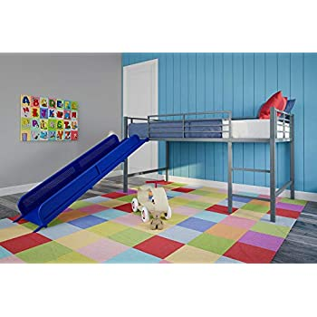 Amazon Com Acme Allentown Twin Twin Bunk Bed With Storage