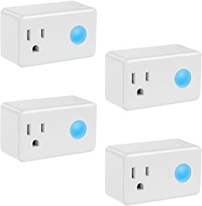 Sweepstakes: Wi-Fi Smart Timer Plug 4 Packs Mini