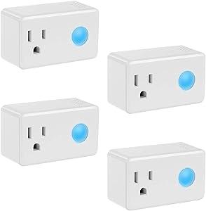 Sweepstakes: Wi-Fi Smart Timer Plug 4 Packs Mini