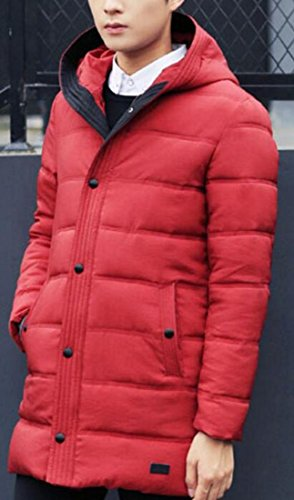 Hot Duck Thick Down UK Men's Windproof Sale 2 Warm Coat Long Down Hooded Jacket rRq0rx