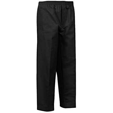 7304f191b7 Mens Full Elastic Waist Pants with Mock Fly at Amazon Men's Clothing ...