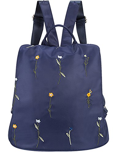 Lightweight Lily Girls Backpack Purse Queen Women Travel Casual for Daypack Blue Nylon YawUaBCxqF