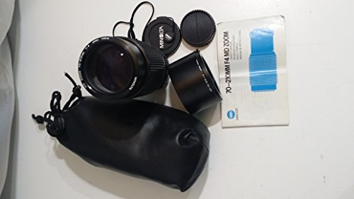Minolta Md Mount Lens - Minolta 70-210 mm f/4.0 Manual Focus MD-Mount Zoom Lens