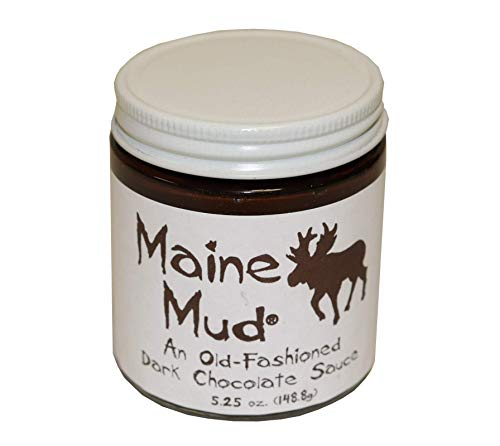 Maine Mud - Dark Chocolate Sauce - 5oz - Great for ice cream, brownies, cup cakes, whoopie pies, fudge