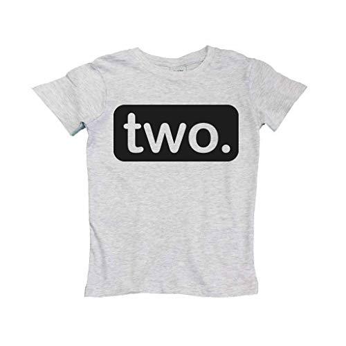 Unordinary Toddler 2nd Birthday Shirt (2y, Light -