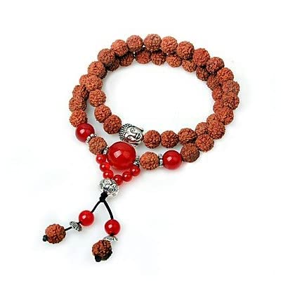 MJW&SL Femme Bracelets Bracelets de rive Onyx Asiatique Ethnique En bois Agate Forme de Cercle Bijoux Plein Air Rendez-vous Bijoux de fantaisie