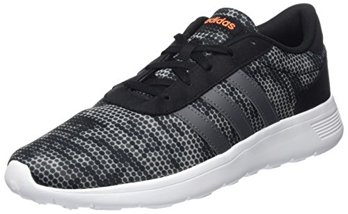 adidas Unisex-Erwachsene Lite Racer Gymnastikschuhe Schwarz (Core Black/grey  Five F17/
