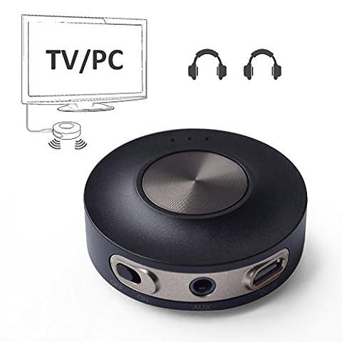 Avantree aptX LOW LATENCY Bluetooth 4.2 Transmitter for TV PC
