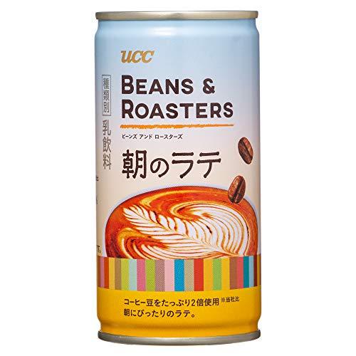 UCC BEANS & ROASTERS 아침 라떼 캔 커피 185g × 30 개