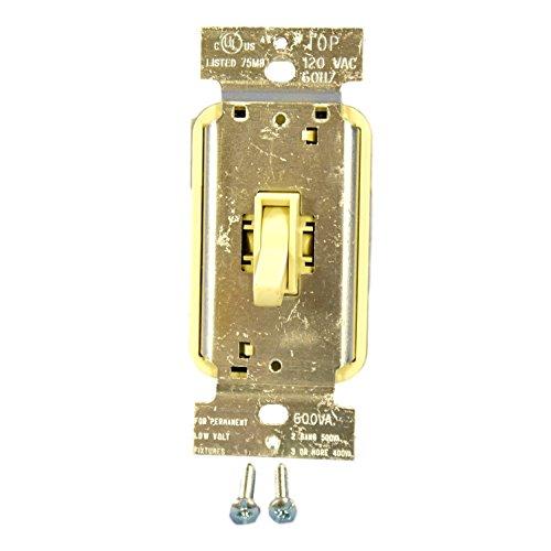 Pass & Seymour Tlv600-Iv Iv 600Va Lv Tog Dimmr ()