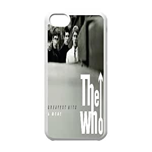 LSQDIY(R) The Who iPhone 5C Plastic Case, Personalised iPhone 5C Case The Who