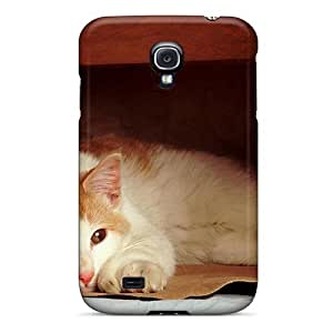 Case Cover Animals Cat And Bag/ Fashionable Case For Galaxy S4 by supermalls