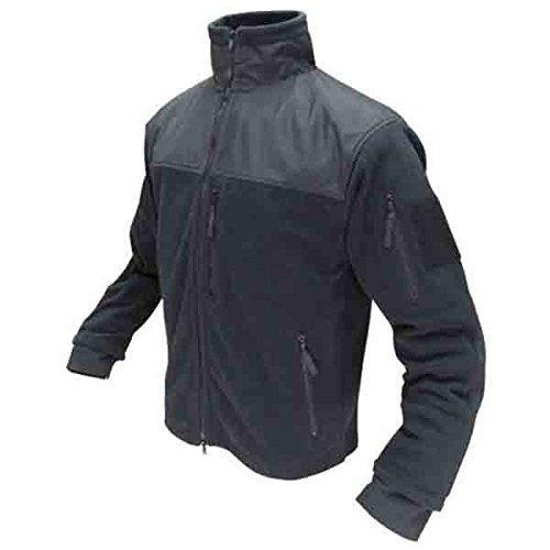 2 X Full Coat (Condor Men's Alpha Tactical Fleece Jacket - Black XL)