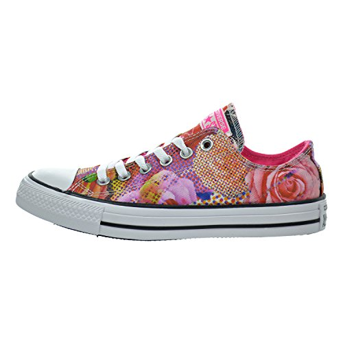 69d532b84925 chic Converse Chuck Taylor All Star Digital Floral OX Women Shoes  White Pink 553298f