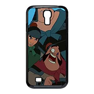 Samsung Galaxy S4 9500 Cell Phone Case Black Disney Mulan Character Chien Po E1317146