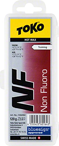 Toko NF Hot Ski Wax, Red, 120gm