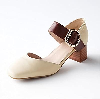 c3f7a32d6142 Amazon.com  CJC Sandals Shoes Ladies Round Closed Toe Platforms ...