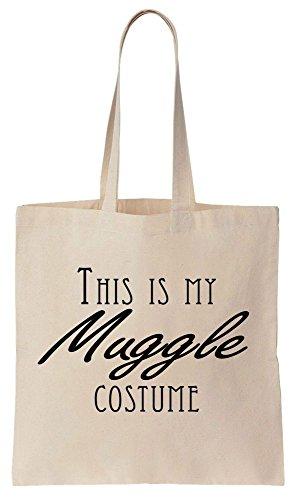 This Is My Muggle Costume Sacchetto di cotone tela di canapa