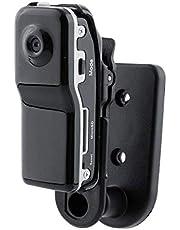 كامير ميني دي في- دي في ار الرياضية للدراجات النارية - تسجل صوت وفيديو بجودة 720P HD DVR- موديل MD80