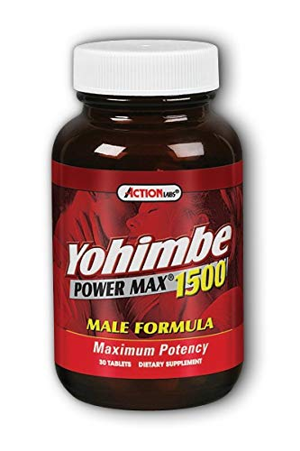 Yohimbe Power Max 1500 Natural Balance 30 Tabs