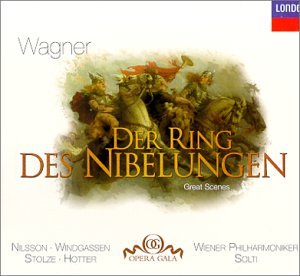Wagner: Der Ring des Challenge the lowest price of Japan ☆ safety Solti Nibelungen--Great Scenes