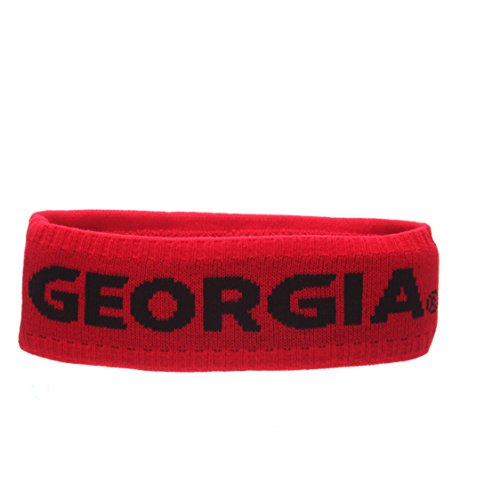 Georgia Headband - Zephyr Adult Men Crown Headband, Red, One Size