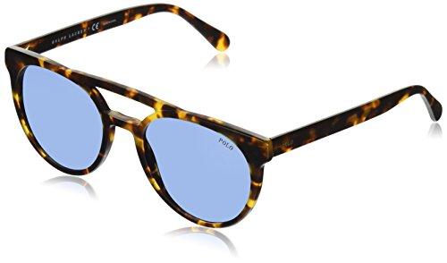 Polo Ralph Lauren Men's Plastic Man Sunglass Round, VINTAGE TORTOISE, 53 ()