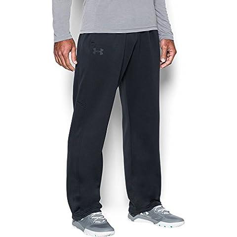 Under Armour Men's Storm Armour Fleece Pants, Black/Black, XX-Large