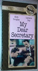 My Dear Secretary [VHS]
