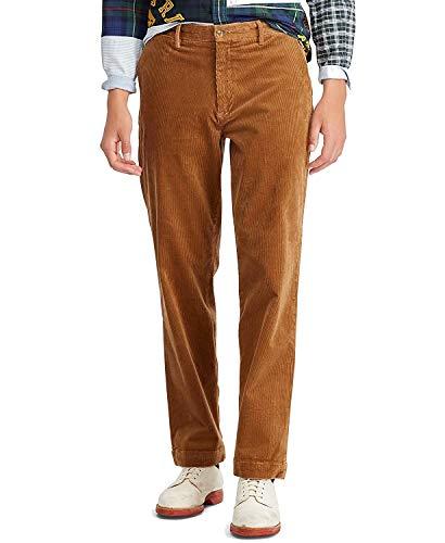 (Polo Ralph Lauren Men's Stretch Classic Fit Corduroy Pants Rustic Tan 38X32)