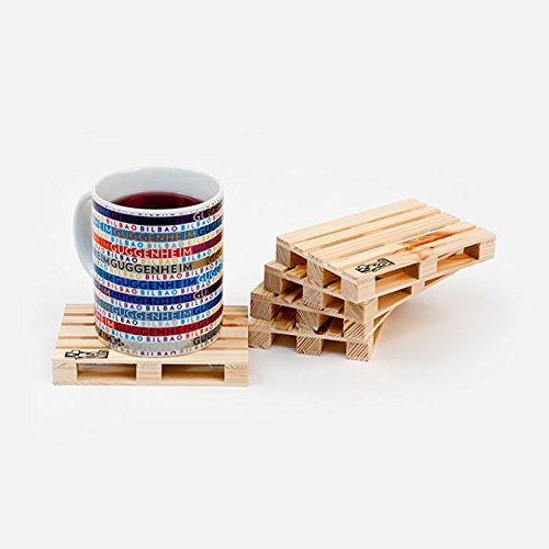 50 opinioni per Progettazione pallet sottobicchieri in legno- set di 5 sottobicchieri in legno