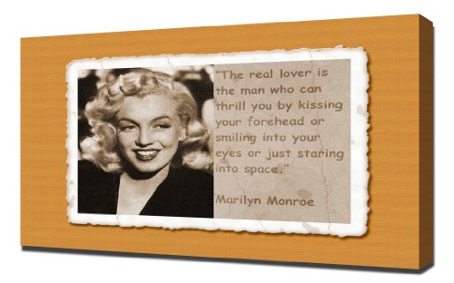 marilyn monroe posters with quotes