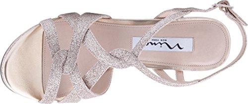 Nina Womens Raeni Dress Pump Beige Glitter